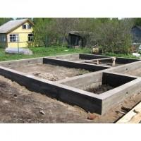 Фундаменты, Фундамент под деревянный дом