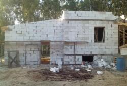Уютный двухэтажный коттедж из блоков