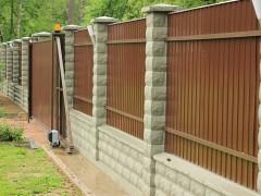 Строительство и ремонт заборов в Бронницах