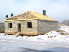 Строительство домов из блоков в Раменское