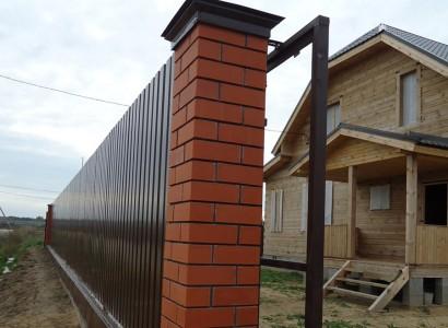 Строительство и ремонт заборов в Егорьевске