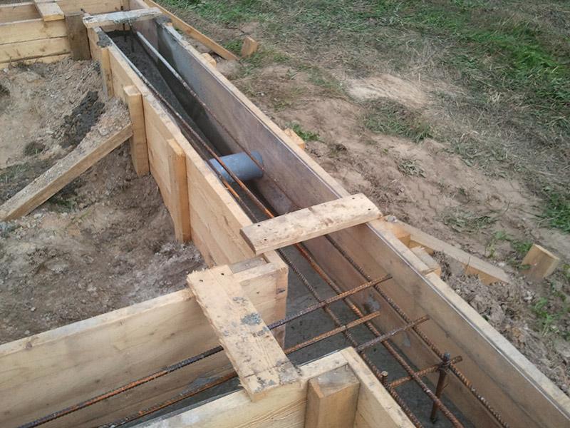 Устройство ленточных фундаментов строительство в Люберцах