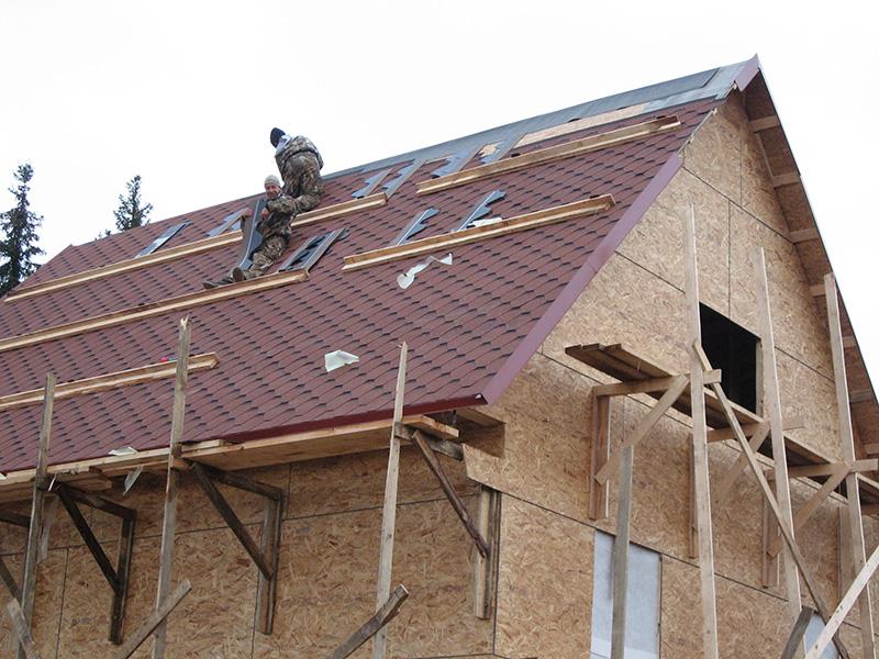 Замена крыши дома
