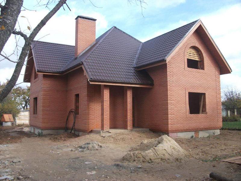 Каркасный дачный дом 6х6 с террасой Проект ДК-32