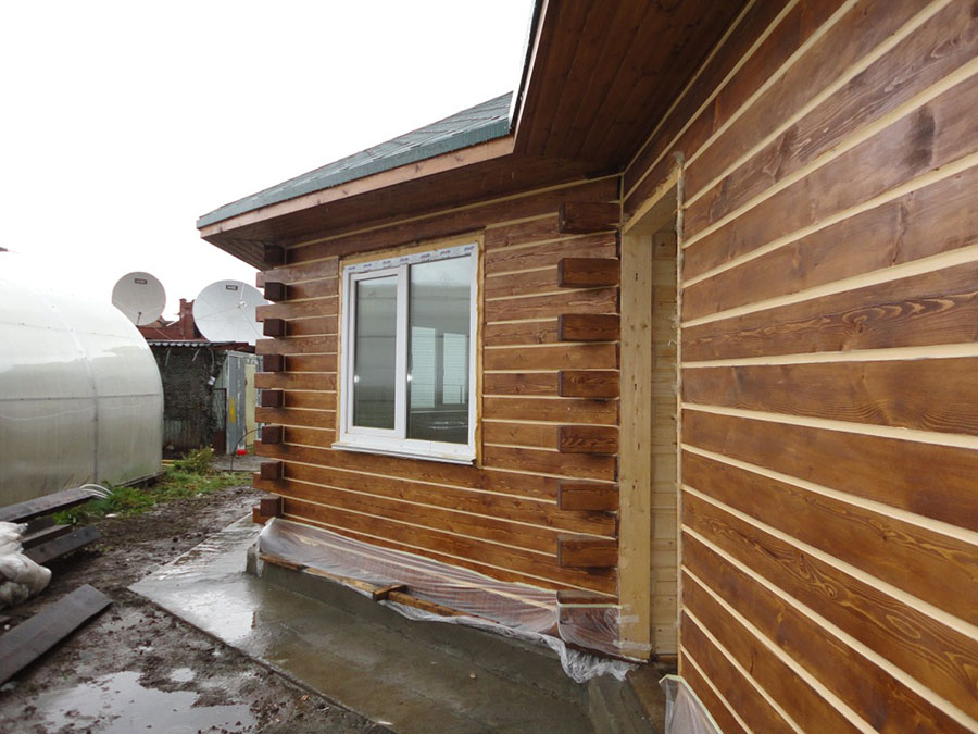 Обшивка дома вагонкой снаружи - деревянная и пластиковая наружная 66