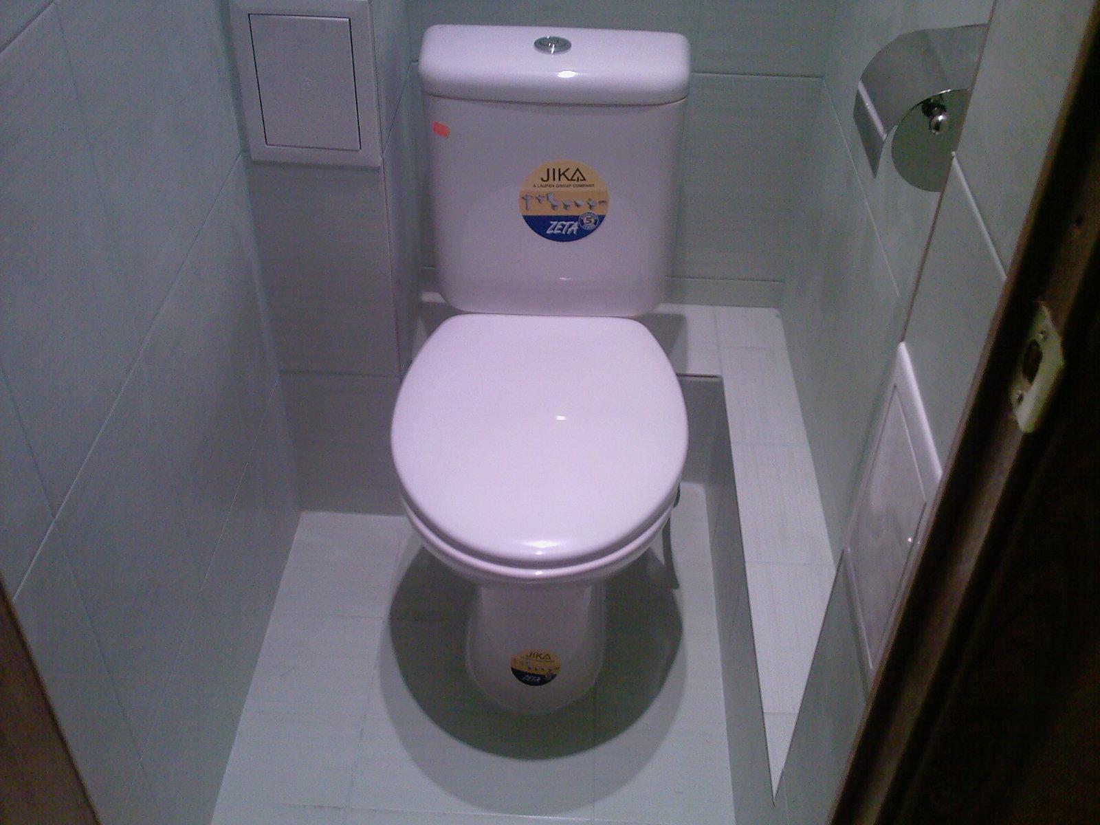 Ремонт в туалете эконом своими руками фото